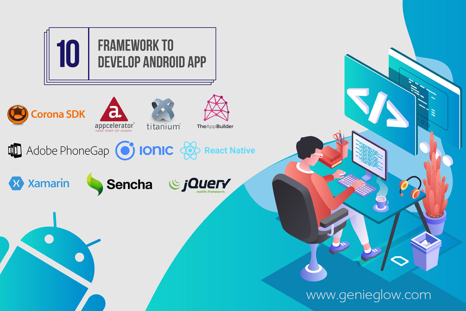 Frameworks for Android App Development in 2019