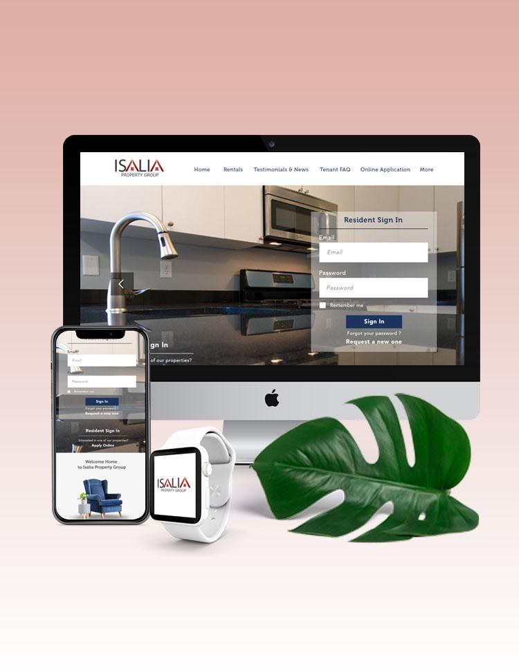 ISALIA Website